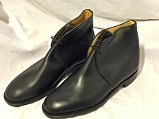 British Army Black Leather George Boots, Unissued, size 8L, US 9