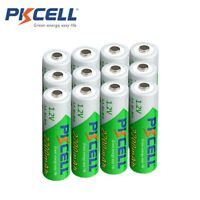 12 PKCELL 1.2V NiMh Rechargeable Battery Low Self-discharge AA 2200mAh Battery