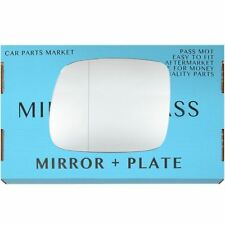 For Mercedes Vaneo 2002-2005 Left Passenger Side Aspheric mirror glass +plate