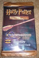 Brand New Harry Potter Quidditch Cup Booster Pack