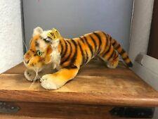 Steiff Tier 0900/14 Tiger 24 cm. Top Zustand