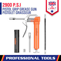New Mini Grease Gun Set (2 WAY) With 3OZ 85G Cartridge & Accessories Heavy Duty