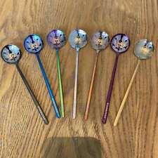 1pcs Starbucks Coffee Spoon Goddess Spoon 15cm Dessert Cup Spoon Multi-colors