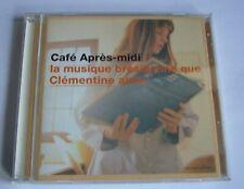 CD- Cafe Apres-midi –la musique bresilienne que Clementine aime-neuwertig