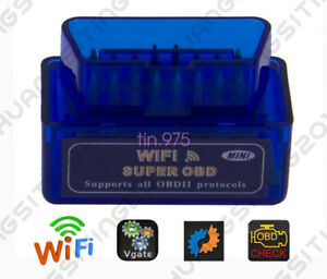 ELM327 WiFi OBD2Ⅱ Car Diagnostic Interface Scanner Tool for Phone Android & PC S