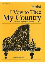 Partition piano - Gustav Holst - I Vow to Thee My Country - Easy piano N°52
