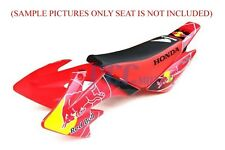 GRAPHIC KIT HONDA XR50 CRF50 SDG 107 SSR 125cc DIRT BIKE DECALS PLASTIC  V DE11+