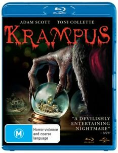 Krampus (Blu-ray,2015) Region B NEW+SEALED