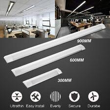 LED Slim Ceiling Batten Tubes Light Fluorescent 30CM 60CM 90CM Lamp Bar 10W-30W