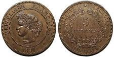 5 centimes Cérès 1891 A, Paris