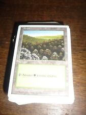 MTG Magic the Gathering FORET version 1 fifth 5th French NEW RARE