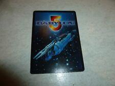 BABYLON 5 - 4 Cards - 1997 Traiding cards