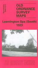 OLD ORDNANCE SURVEY MAP LEAMINGTON SPA SOUTH 1923