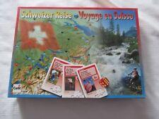 2001 VOYAGE EN SUISSE BOARD GAME JEU TOUR OF SWITZERLAND CARLIT GAMES 100% COMPL