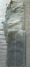 7 for all mankind Jerome Dahan Bootcut Blue Jeans Faded Distressed 25