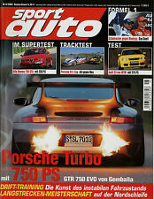 sport auto 5/02 2002 Audi S3 MTM Alfa 156 GTA Gemballa GTR Audi A6 4.2 BMW 540i
