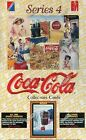 COCA+COLA++SERIES+4+FACTORY+SEALED+WAX+CARD+BOX+CARDS+36+PACKS+1995