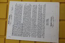 PRIMO SPORTS April 1979 Dogtown Skates DTS Skateboard 8x11in. Dealer Price List