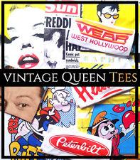 Freddie Mercury Queen Tshirt Betty Boop Wembley Budapest Marilyn John Deacon