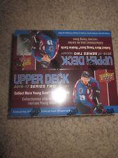 2016/17 Upper Deck Series 2 Hockey 24 Pack Box Factory Sealed Retail Box UD