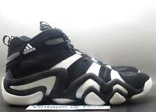 online retailer 84bcc 95687 Para Hombre Adidas Crazy 8 Negro Blanco Zapatos de baloncesto Kobe Bryant  G21939 Talla 14