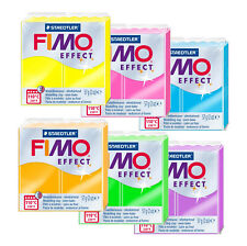 Fimo Effect Neon 57g Polymer Clay Full 6 Colour Range Modelling Materials
