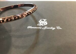 Russell Simmons Jewelry Company Ladies Copper Colored Slip On Bangle Bracelet