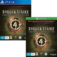 Sudden Strike 4 Complete Collection XBOX One PS4 Playstation 4 WW2 RTS War Game