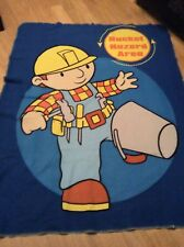 LARGE BOB THE BUILDER BLANKET