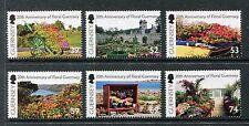 Guernsey 1179-1184 MNH Flowers  Flora 2012. x19506