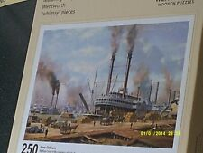 DISCONTINUED WENTWORTH 250  'NEW ORLEANS' PAINTING BY ROY CROSS