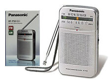 Panasonic RF-P50 Am Fm - Pocket Radio Inbuilt Speaker - Silver