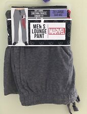 MARVEL MEN LOUNGE PANT COMFORT FIT AND FUNCTIONAL POCKET SOFT FABRIC SIZE 2X