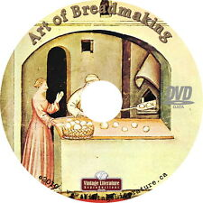 Art of Bread Making { 20 Classic Home Bread & Sandwich Cook Books } on DVD