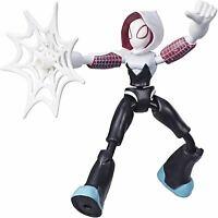 Spider-Man Curva Y Flex Ghost-Spider Figura de Acción Niños Juguete