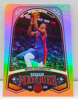 Sekou Doumbouya RC 2019-20 Chronicles MARQUEE Silver Refractor Holo Rookie Card