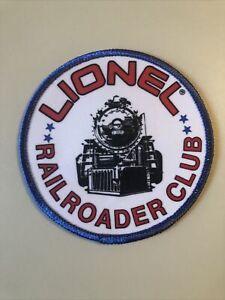Lionel Trains Railroader Club Patch Vintage