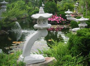 Rankei kl Japanische Steinlaterne Gartendekoration Koiteich Steinguß