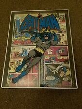 Batman 3D glass picture, studio one 1974 National Periodical Publications
