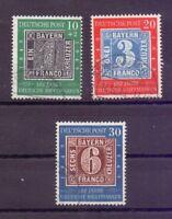 Bund 1949 - Tag der Briefmarke - MiNr.113/115 gestempelt - Michel 140,00 € (250)