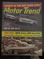 Motor Trend Magazine June 1960 Buick Invicta Lark Convertible Sedan L V PP GG