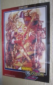 2000 CAPCOM MARVEL VS. CAPCOM 2 POSTER