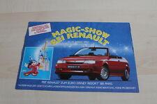 124344) Renault R 19 16V Cabrio Phase I - Clio A Prospekt 03/1992