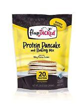 FlapJacked Protein Pancake and Baking Mix Banana Hazelnut 24 Ou... Free Shipping