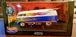 Hotwheels Mattel Customized VW Drag Bus 1:18 Die Cast Bus #26416