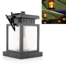 Solarleuchte LED-Kerzenlichter Solarlampe Gartendeko Leuchte Windlicht Laterne