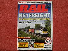 RAIL Issue 667 - very good condition- Birmingham New Street revamp + DB Schenker