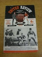 17/02/1962 Manchester United v Sheffield Wednesday [FA Cup] (folded, creased, pr