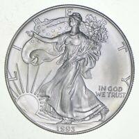 Better Date 1993 American Silver Eagle 1 Troy Oz .999 Fine Silver BU Unc