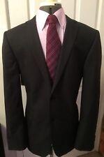 Ted Baker Resistencia chaqueta blazer para hombre gris oscuro 40R